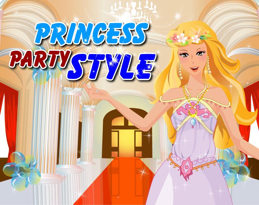 Princess Party Style – dressupgirlus.com